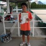 第30回津島杯シングルス優勝