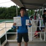 第30回津島杯CD男子シングルス優勝