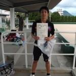 第30回津島杯シングルス準優勝
