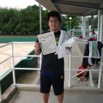 第30回津島杯CD男子シングルス準優勝