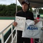 第30回津島杯男子シングルス3位