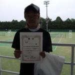 第30回津島杯CD男子シングルス3位