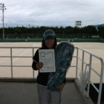 第30回津島杯一般女子準優勝