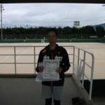 第30回津島杯一般女子シングルス3位