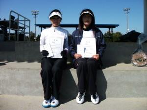 女子BC準優勝