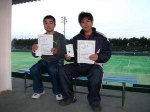 男子BC4位優勝
