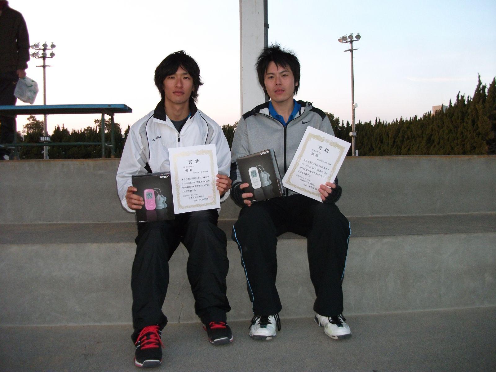 BCD春季テニス大会結果 (2/23)