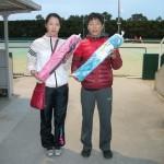 1・2位トーナメント4位(天野亜由美・堺和広)